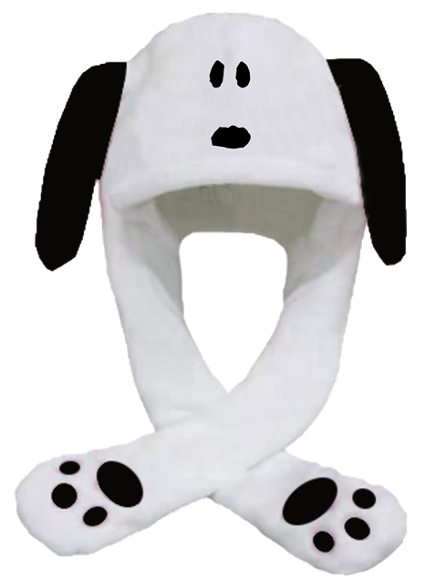 Picture of Snoopy 毛毛帽