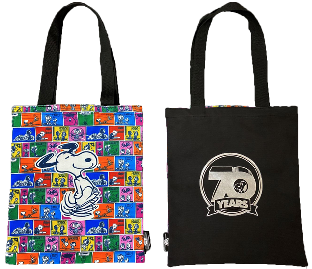Picture of Snoopy Run 雙面 Tote Bag
